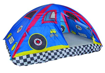 4. Pacific Play Tents –Kids Rad Racer Bed Tent