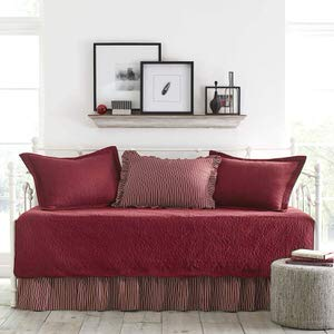 5. Stone Cottage Trellis Collection Scarlet Daybed Bedding Set