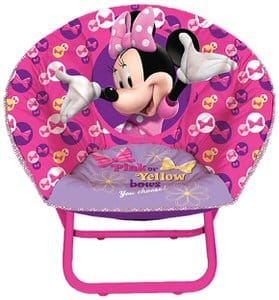 4. Disney Minnie Mouse Toddler Moon Chair