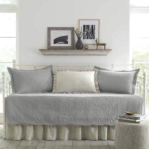 1. Stone Cottage 5-Piece Daybed Bedding Set