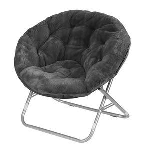 1. Urban Shop Faux Fur Saucer Chair