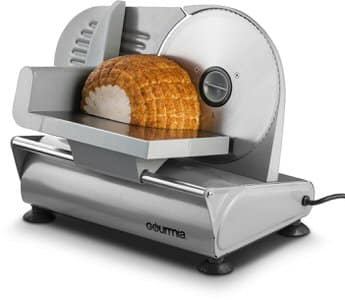 1. Gourmia GFS700 Professional Electric Power Food & Meat Slicer