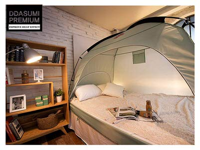 9. DDASUMI Warm Tent for Single Bed 2015 (Mint)