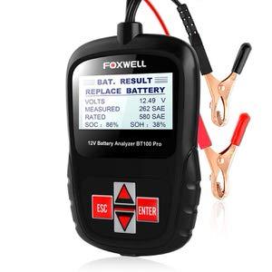 4. FOXWELL BT100 Pro Battery Analyzer & Tester