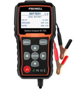 3. Foxwell BT705 CCA Battery Load Tester