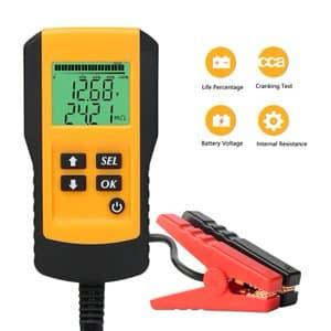 5. SUNER POWER Digital 12V Automotive Car Battery Tester