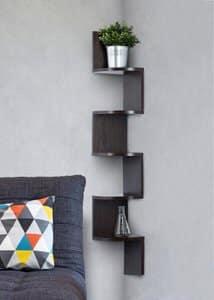 2. Corner shelf – Espresso- Finish Corner Shelf