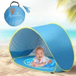 4. Sunba Youth Pop-up Portable Shade Sun Shelter