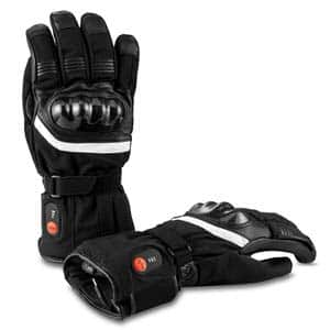 4. Savior Palm Leather Gloves for Winter Skiing