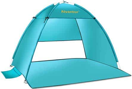 2. Alvantor Beach Tent Super Bluecoast Beach Umbrella Outdoor Sun Shelter