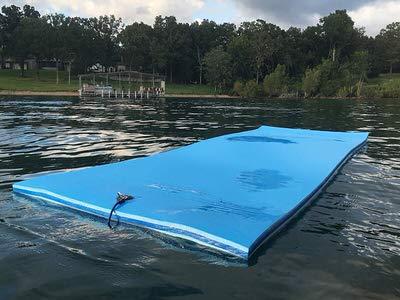 10. FloatDaddy 3-Ply Foam Lake Swim Mat