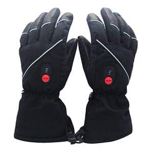 1. Savior Heated Gloves-with Rechargeable Li-ion-Battery
