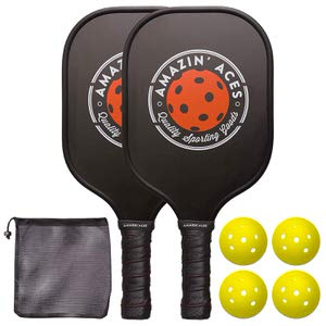 2. Amazin' Aces Pickleball Paddle Set