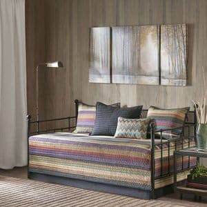 6. Madison Park Yosemite Daybed Bedding Set