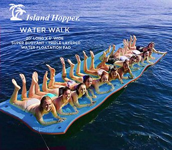 7. Island Hopper Floating Foam Water Mat