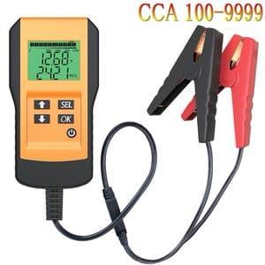 8. LEICESTERCN Digital 12V Car Battery Load Tester