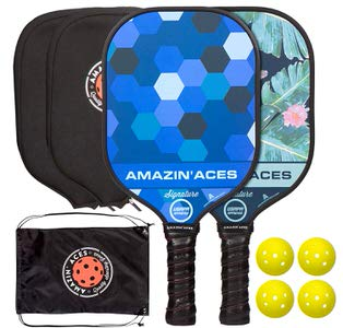 4. Amazin' Aces Signature Pickleball Paddle Set