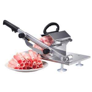 8. Befen Manual Frozen Stainless Steel Meat Slicer