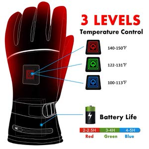 9. Greensha Electric Heated Gloves with Rechargeable Battery