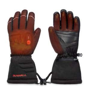 6. Sun Will Heated Gloves Electric Hand Warmer Rechargeable