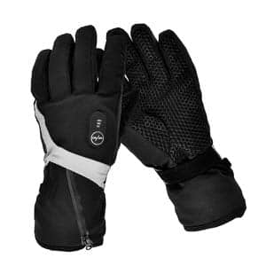 10. Snow Deer Electric Gloves Men Women with Rechargeable Battery