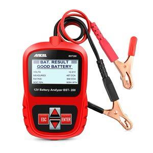 12. ANCEL BST200 12V Battery Tester