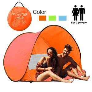6. RIJER Instant Sun Shade Tent POP UP Family UV Play Beach Tent