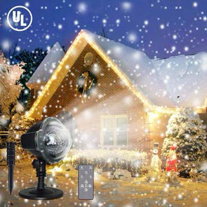9. Yinuo Mirror LED Christmas Projector Lights