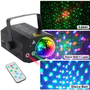 8. CHINLY Party Lights RGB