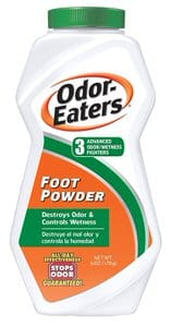 6. Odor Eaters Foot Powder 6 Ounce