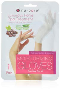 10. Nu-Pore Moisturizing Gloves, Case of 24