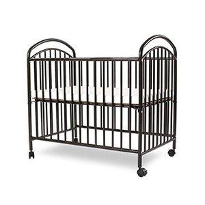 9. LA Baby Mini/Portable Crib, Black