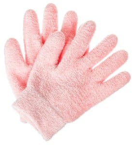 6. Deseau Moisturizing Gloves, Soft Cotton w/ Thermoplastic Gel Lining