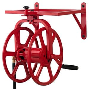 10. Liberty Garden 713 Revolution Multi-Directional Garden Hose Reel
