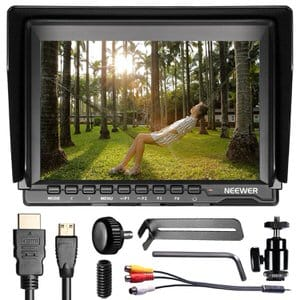 3. Neewer F100 7-inch IPS Screen Camera Monitor