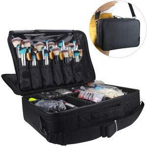2. Relavel Professional Makeup Train Case