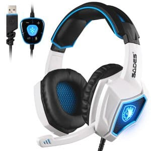 2. SADES Spirit Wolf Gaming Headset