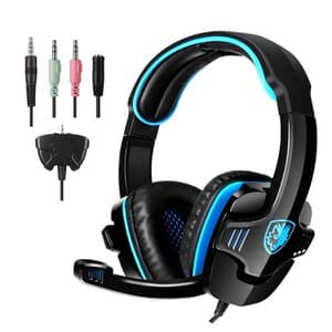 5. SADES Gaming Headset Headphone