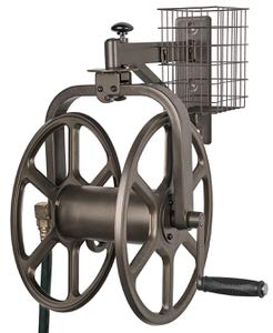 9. Liberty Garden 712 Single Arm Navigator Multi-Directional Garden Hose Reel