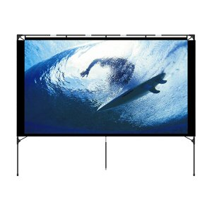 6. Foldable Portable Projector Screen by Vamvo