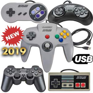 8. USB Classic Controllers by Retro Power