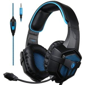 11. SADES Stereo Sound Gaming Headset