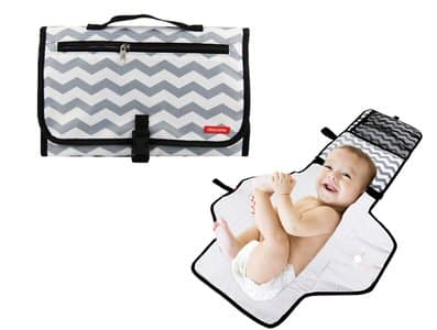 6. Obecome Portable Baby Diaper Changing Pad