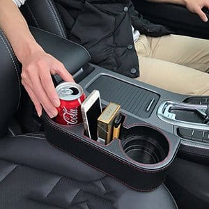 10. LOKONE Side Pocket Car Cup Holder