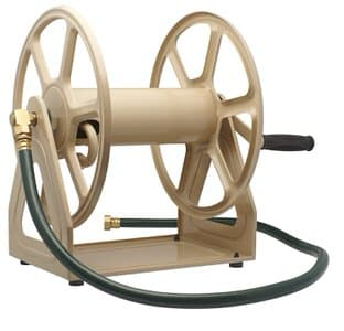 13. Liberty Garden 709 Steel Wall/Floor Mounted Hose Reel