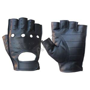 9. A&H Apparel Leather Fingerless Gloves