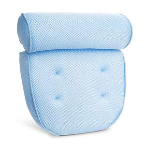 10. KP SOLUTIONS Bath Pillows For Tub Neck & Shoulder Support