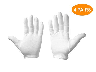 8. Leah Mitchell - (4 pairs) Moisturizing Therapeutic Gloves