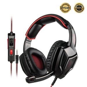 8. SADES Bass Surround Stereo Gaming Headset