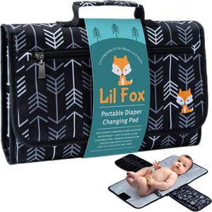 10. Portable Diaper Changing Pad by Lil Fox